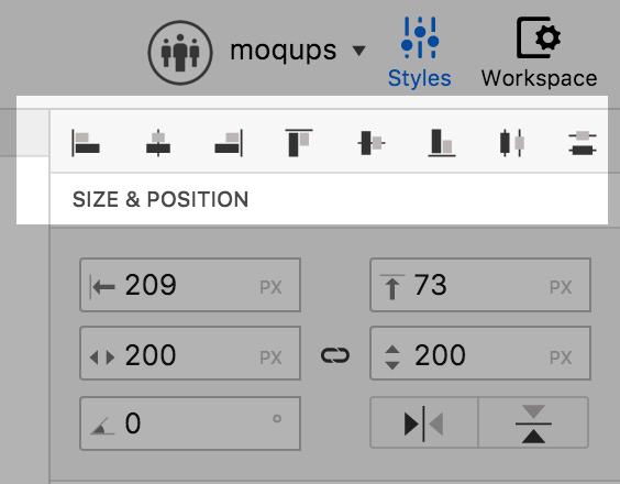 moqups-inspector-align-toolbar
