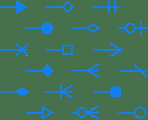 Haz diagramas de flechas